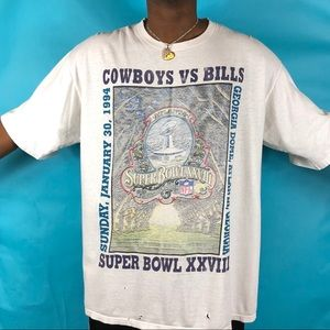 1994 starter Cowboys vs Bills Super Bowl XXVIII